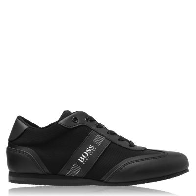 Adidasi sport Boss TEEN negru baiat 09b