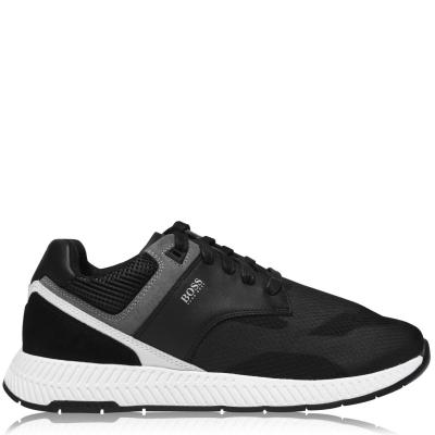 Adidasi sport BOSS Titanium Run negru