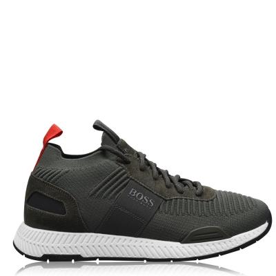 Adidasi sport BOSS Titanium Runner kaki
