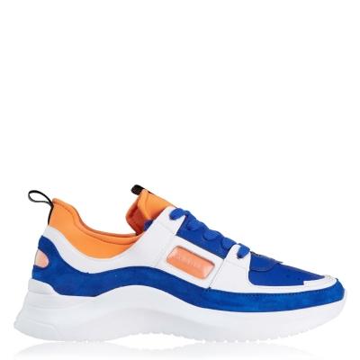 Adidasi sport Calvin Klein albastru portocaliu