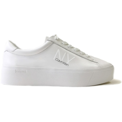 Adidasi sport Calvin Klein Calvin Klein Jamella LU alb