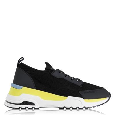 Adidasi sport Calvin Klein Hensley Terry negru