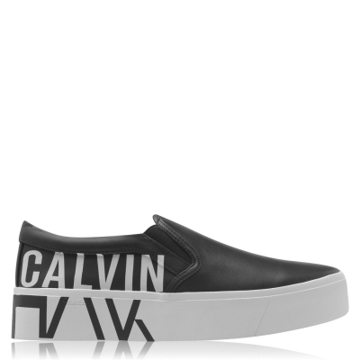 Adidasi sport Calvin Klein negru