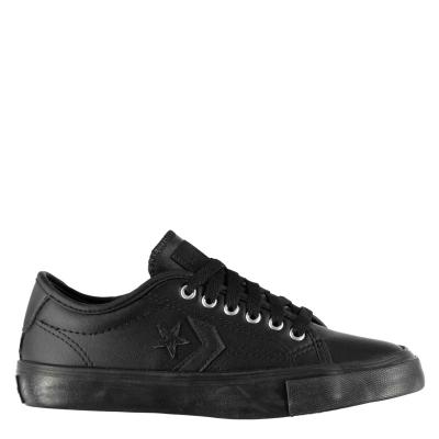 Adidasi sport Converse Ox Replay Low pentru copii negru mono