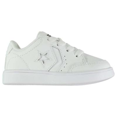 Adidasi sport Converse Star Court alb