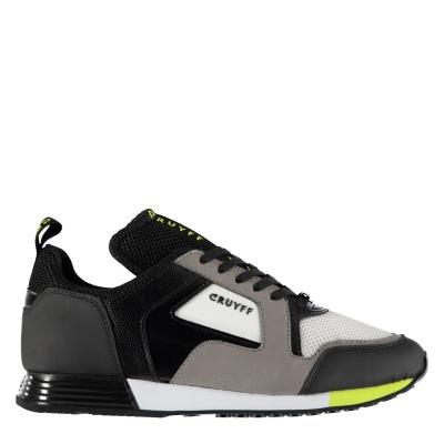 Adidasi sport Cruyff Lusso gri inchis fosforescent yllw