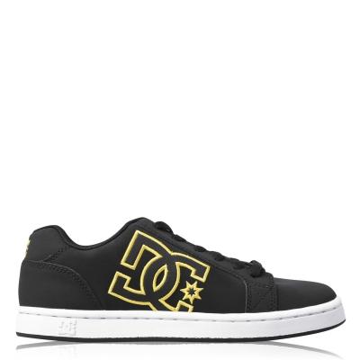 Adidasi sport DC Serial Graffik pentru Barbati negru galben
