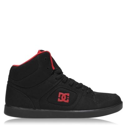 Adidasi sport DC Union High pentru Barbati negru rosu