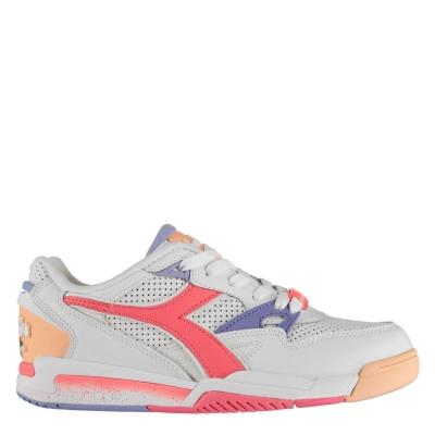 Adidasi sport Diadora Rebound Ace alb coral c0059
