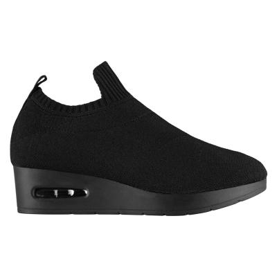 Adidasi sport DKNY Angie Slip negru