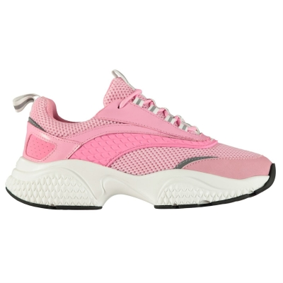 Adidasi sport Ed Hardy Scale Runner roz