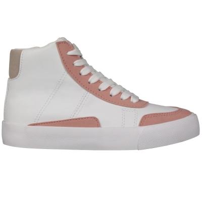 Adidasi sport Fabric Cavour pentru Copii alb roz