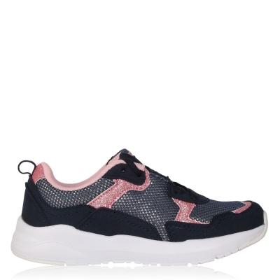 Adidasi sport Fabric Corso Child pentru fete bleumarin roz