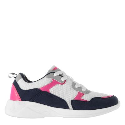 Adidasi sport Fabric Corso Juniors alb roz