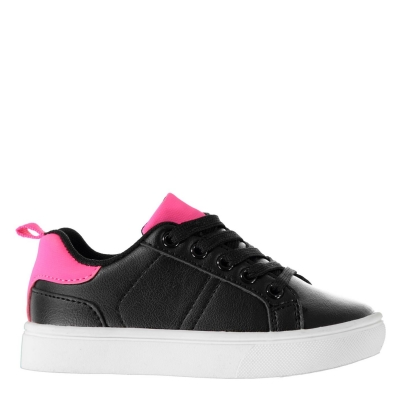 Adidasi sport Fabric Low pentru Bebelusi negru roz