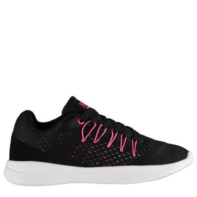 Adidasi sport Fabric Montare tricot pentru Femei negru roz alb