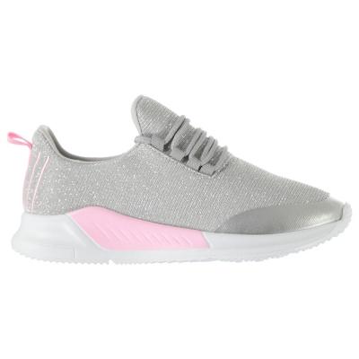 Adidasi sport Fabric Santo baietei argintiu roz