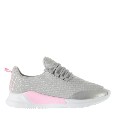 Adidasi sport Fabric Santo pentru Copii argintiu roz