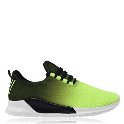Adidasi sport Fabric Santo pentru Copii verde lime negru