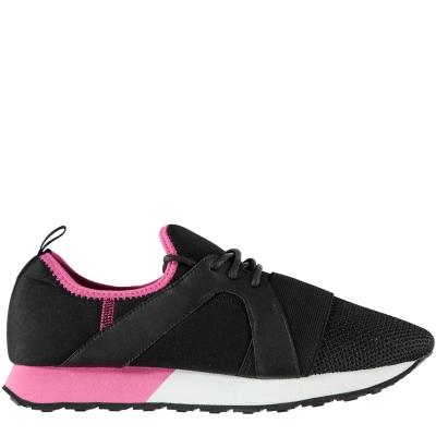 Adidasi sport Firetrap Getaria pentru Femei negru roz