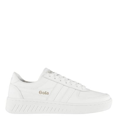 Adidasi sport Gola Grandslam din piele pentru Barbati alb