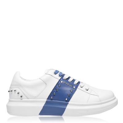 Adidasi sport Guess Kean Stud alb albastru