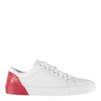 Adidasi sport Guess Luis Low pentru Barbati alb rosu