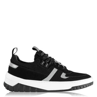 Adidasi sport Hugo Madison 10 plasa negru alb