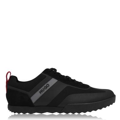 Adidasi sport HUGO Hugo Matrix Suede negru
