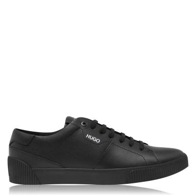 Adidasi sport Hugo Hugo Zero Smooth din piele negru