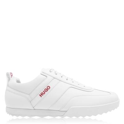 Adidasi sport Hugo Matrix Nappa alb