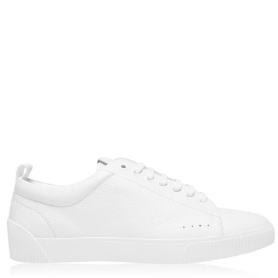 Adidasi sport HUGO Zero din piele alb