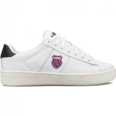 Adidasi sport K Swiss Classics Casual alb negru swht