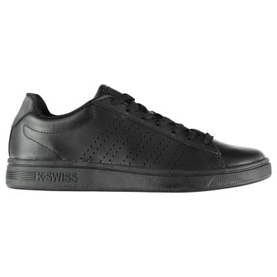 Adidasi sport K Swiss Court Casper pentru Barbati negru mono