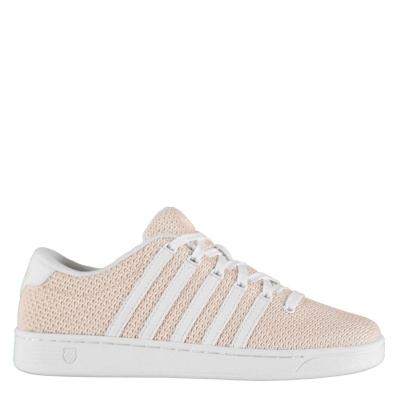 Adidasi sport K Swiss Court Pro II roz alb