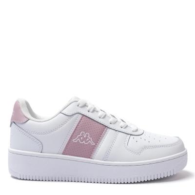 Adidasi sport Kappa La Morra Juniors alb roz
