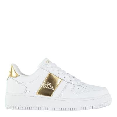 Adidasi sport Kappa La Morra pentru Femei alb auriu