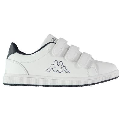 Adidasi sport Kappa Maresas DLX pentru copii alb bleumarin