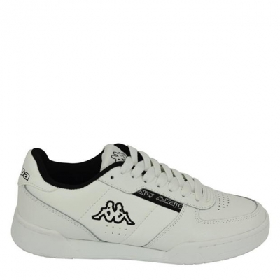 Adidasi sport Kappa Sonto pentru copii alb negru