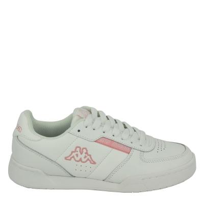 Adidasi sport Kappa Sonto pentru copii alb roz