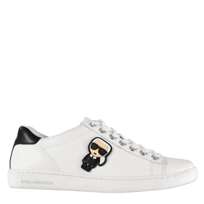 Adidasi sport Karl Lagerfeld II Low Top alb