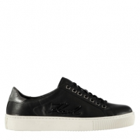 Adidasi sport Karl Lagerfeld Kupsole Signia negru gri inchis