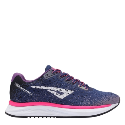 Adidasi sport Karrimor Rapid pentru Femei bleumarin roz