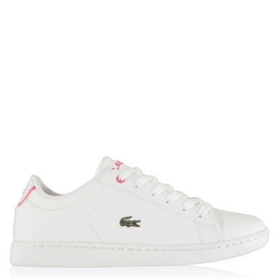 Adidasi sport Lacoste Carnaby BL1 alb roz