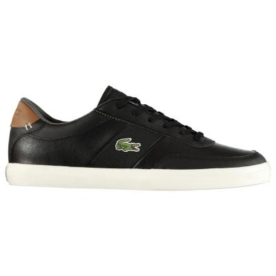 Adidasi sport Lacoste Court Master 318 negru maro