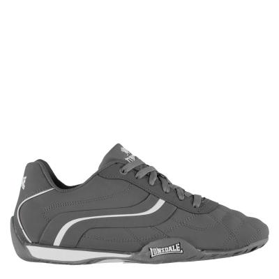 Adidasi sport Lonsdale Camden pentru Barbati gri alb