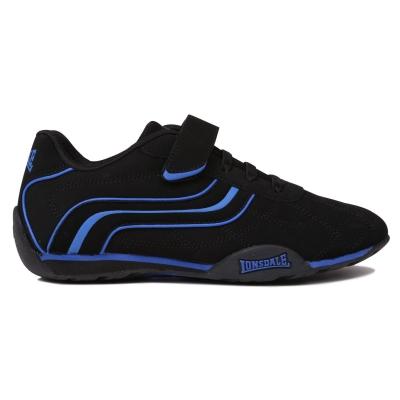 Adidasi sport Lonsdale Camden pentru Copii negru albastru