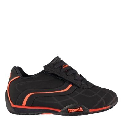 Adidasi sport Lonsdale Camden pentru Copii bleumarin portocaliu