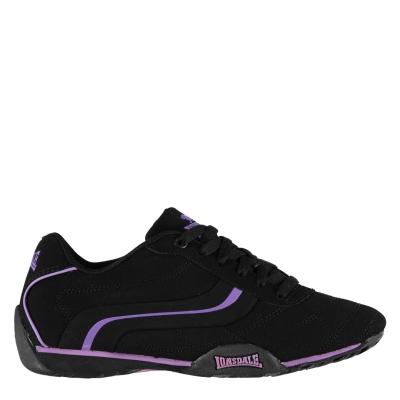 Adidasi sport Lonsdale Camden pentru Femei negru mov