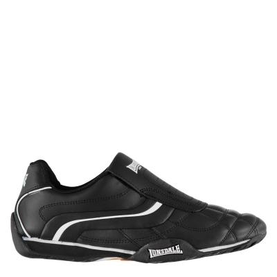 Adidasi sport Lonsdale Camden Slip pentru Barbati negru alb